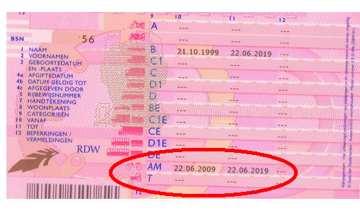 rijbewijs a halen