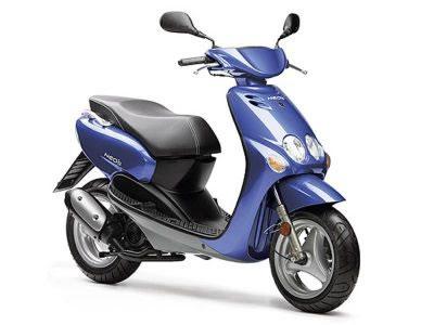 Yamaha And Honda Scooters